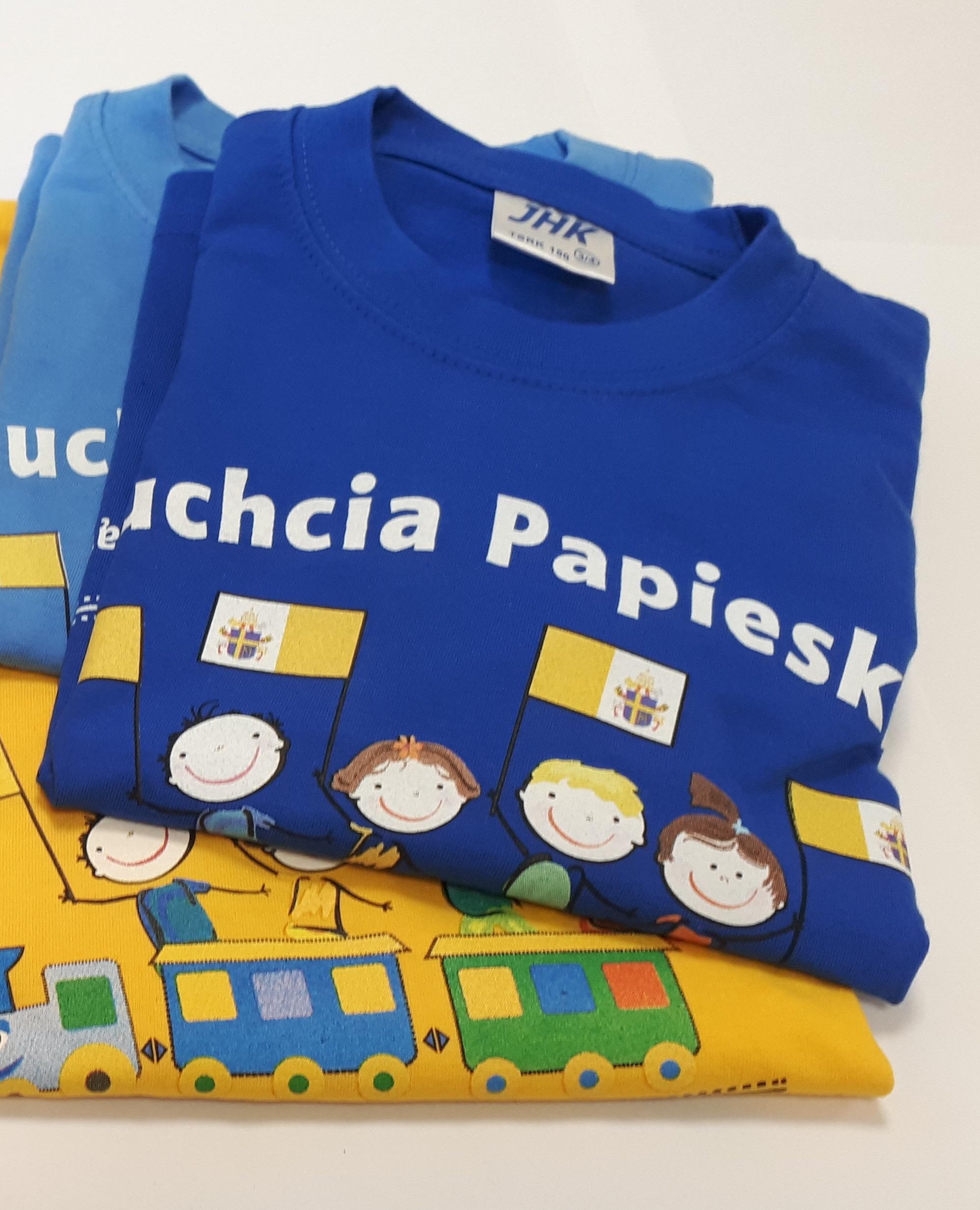 """T-SHIRT DZIECIĘCY """"CIUCHCIA PAPIESKA"""""""