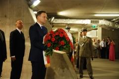 Prezydent RP w Panteonie Wielkich Polaków 7.08.2015