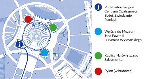 Mapka nowa punkt informacyjny COB
