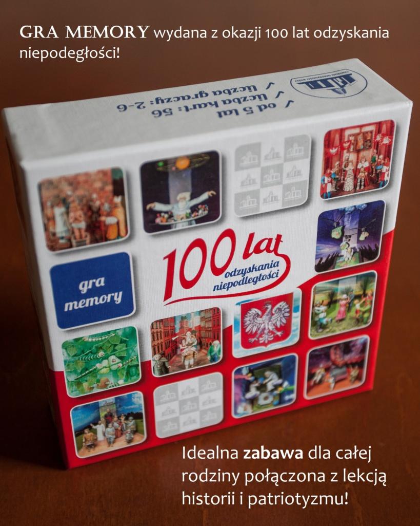 Gra Memory. 100 lat odzyskania niepodległości