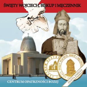 Złoty medal św. Wojciech