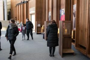 Nawa boczna Świątyni - relikwie świętych i błogosławionych