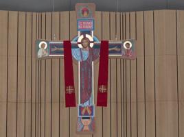 Krzyż Paschalny w Świątyni Opatrzności Bożej - strona chwalebna