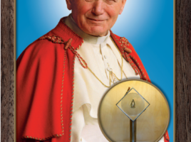 Św. Jan Paweł II i relikwie