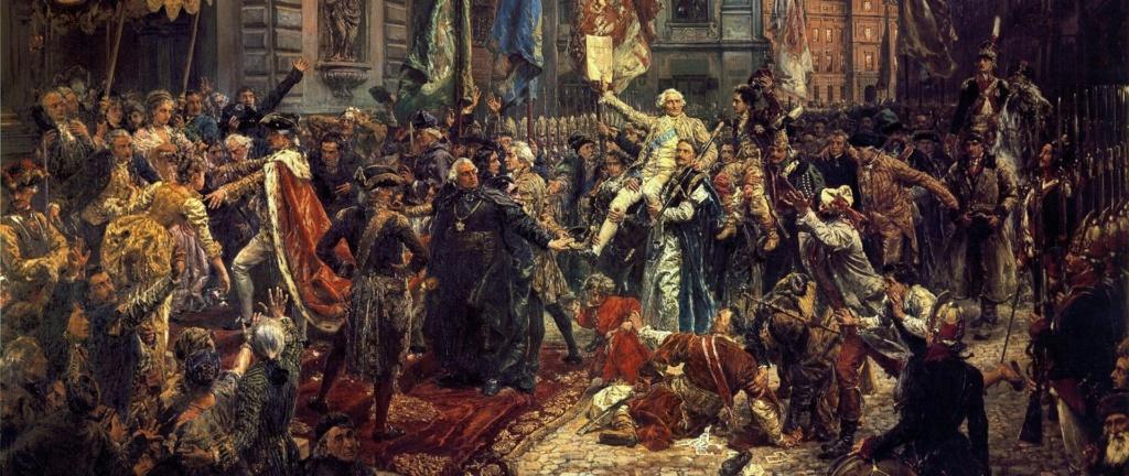 Jan Matejko - Uchwalenie Konstytucji 3 Maja