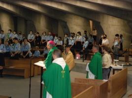 Msza św. dla Skautów Europy