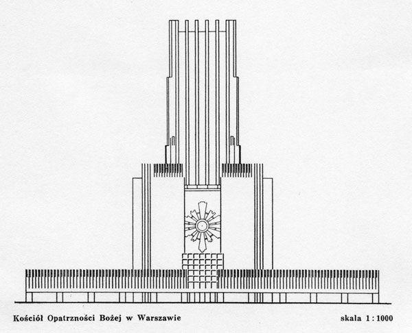 Swiatynia_Opatrznosci_Bozej_B.Pniewski_1938__fasada