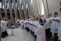 50-lecie kursu lektorskiego chór seminaryjny