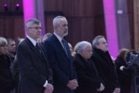 Pogrzeb Ryszarda Peryta, Gliński, Kaczyński