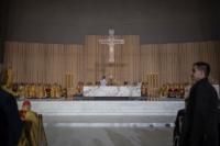 Pietro Parolic wygłasza homilię w Świątynia Opatrzności Bożej