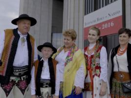 Państwo Wolscy na beatyfikacji Prymasa Wyszyńskiego i Matki Czackiej